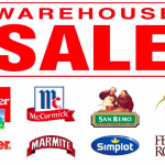 Loacker, San Remo, Kinder, Marmite, Simplot, Ferroro Rocher Warehouse Sale