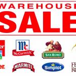 Loacker, San Remo, Kinder, Marmite, Simplot, Ferroro Rocher Warehouse Sale