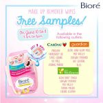 Biore Makeup Remover Wipes Giveaway