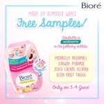 Biore Makeup Remover Wipes Sample Giveaway