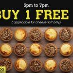 Hokkaido Baked Cheese Tart Buy 1 FREE 1 Promotion