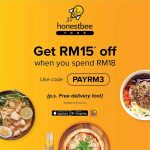 honestbee: Get RM15 off when you spend RM18