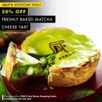 PABLO Matcha Cheese Tart at 50% Discount