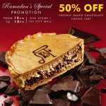 Pablo Freshly Baked Chocolate Cheese Tart at 50% Discount