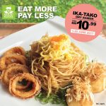 Ika-Tako Dry Ramen at only RM10.99