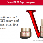 Clarins Serum and Moisturisers Samples Giveaway
