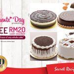 Secret Recipe RM20 Voucher Giveaway