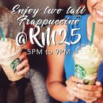 Starbucks Frappuccino for only RM12.50 Promotion