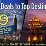 Return Flights + 3N Stay + Tax from only RM899