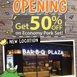 Bar B Q Plaza Economy Pork Set at 50% Discount