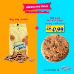 Famous Amos Big Cookies for only RM0.99