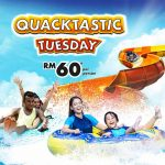 Sunway Lagoon 6 Parks Experience for only RM60