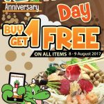 BarBQ Plaza Buy 1 FREE 1 Promotion at ALL Outlets 买一送一促销,所有分行都有哦!