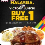 Kenny Rogers ROASTERS Victory Meal Buy 1 FREE 1 Promotion 烤鸡餐买一送一促销!