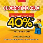 LEGO Clearance Sale: Enjoy Discount up to 40% 乐高清仓大减价:折扣高达40%!