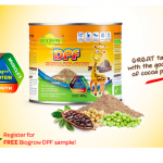 Delivers FREE Biogrow DPF Sample to your doorstep 寄出免费sample,到你家!
