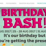 Petronas Birthday Giveaway 生日促销!