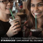 Starbucks Cold Brew Giveaway 星巴克请你喝咖啡!