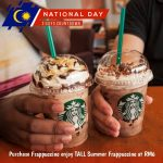 Starbucks Summer Frappuccino at RM6 Promotion 星巴克饮料只要RM6促销!