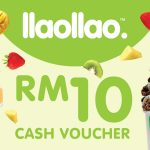 llaollao Cash Voucher at 50% Discount 现金卷折扣50%!