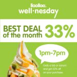 llaollao Frozen Yogurt at 33% Discount 给你额外折扣33%!