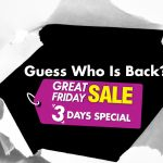 AEON GREAT FRIDAY SALE at ALL AEON Stores (except AEON Mahkota Cheras) 三天特别促销!