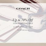 COACH Special Sale: Discount up to 70% 名牌包包大减价:折扣高达70%!