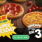 Domino's Personal Pizza for only RM3.90 一份披萨只要RM3.90!