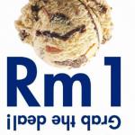 Baskin Robbins Ice Cream RM1 Promotion 雪糕一令吉促销!