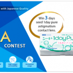 SEED 1 DAY PURE ASTIGMATISM Contact Lens Giveaway 送出免费隐形眼镜!