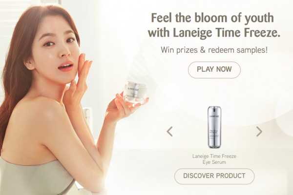 Laneige Time Freeze Samples Giveaway 送出免费护肤品试用装!