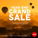 Air Asia Year End Grand Sale 亚航机位大减价!