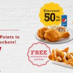KFC Vouchers with FREE Item or Discount Giveaway 送出免费食物卷和折扣卷!