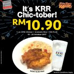 Kenny Rogers ROASTERS Wow Meal for only RM10.90 烤鸡餐只要RM10.90!