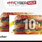 McDonald's Cash Voucher Buy 1 FREE 1 Promo 麦当劳现金卷买一送一促销!