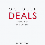 Padini October Deals: Price from only RM9 大减价:价钱从RM9起!