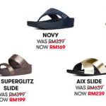 Fitflop Sale: Price from only RM169 名牌凉鞋大促销:价钱从RM169起!