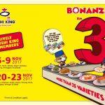 Sushi King RM3 Bonanza 每碟寿司只要RM3促销!