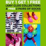 Crocs Buy 1 FREE 1 Promotion 买一送一促销!