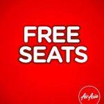 AirAsia FREE Seat Promo 2018 / 2019 免费机位促销又来啦!