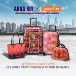 Anna Sui Luggage Collection 换取限量版ANNA SUI旅行箱!