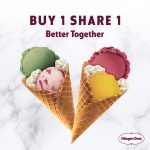 Haagen Dazs Buy 1 FREE 1 Promo 雪糕买一送一促销!