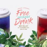 HeyCha Summer Party or Midnight Blue Beverage Giveaway 请你喝免费饮料!