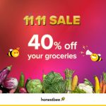 HonestBee Storewide 40% Discount on Groceries 日常用品折扣40%!