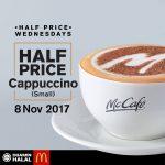 McDonald's Cappuccino @ 50% Discount 卡布基诺半价促销!