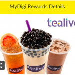 Tealive Drink for only RM3.99 茶饮只要RM3.99促销!