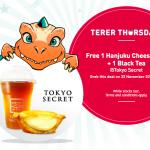 Tokyo SecretHanjuku Cheese Tart + Black Tea Giveaway 请你吃免费起司挞+红茶!