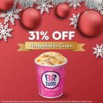 Baskin Robbins Handpicked Ice Cream @ 31% Off 雪糕折扣31%!