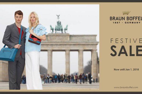 Braun Büffel Festive Sale 佳节特别促销!