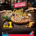 Dominos Regular Pizza for only RM1 Promo 披萨只要RM1促销!